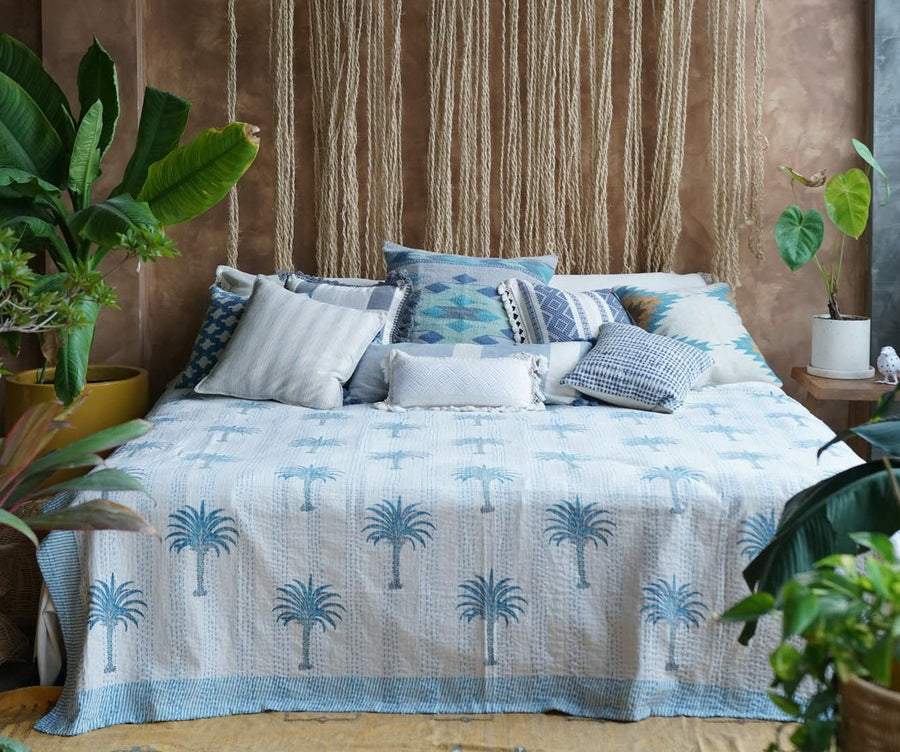 INDIAN COVERLETTE (DOUBLE BED)