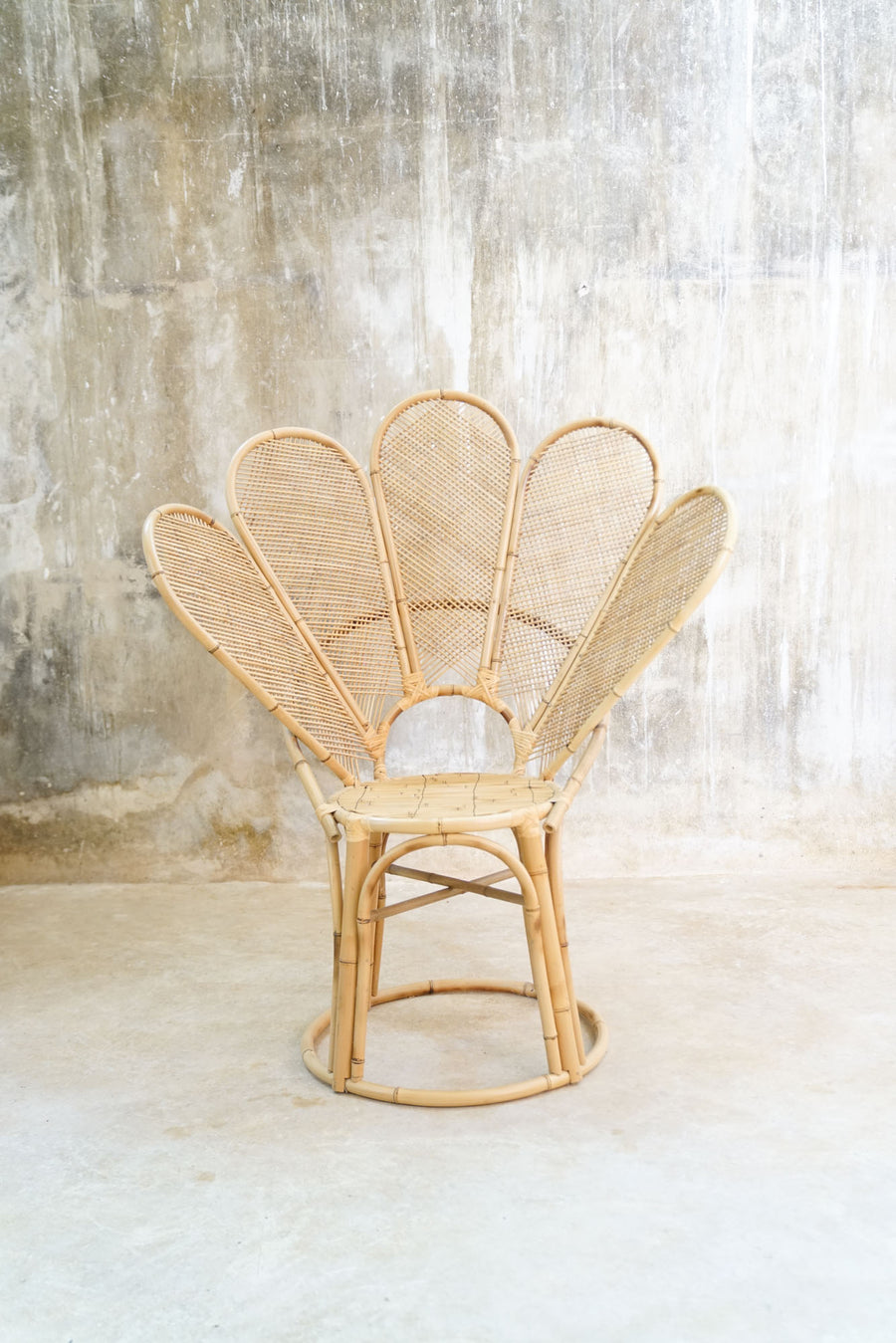 BAMBOO FLOWER CHAIR