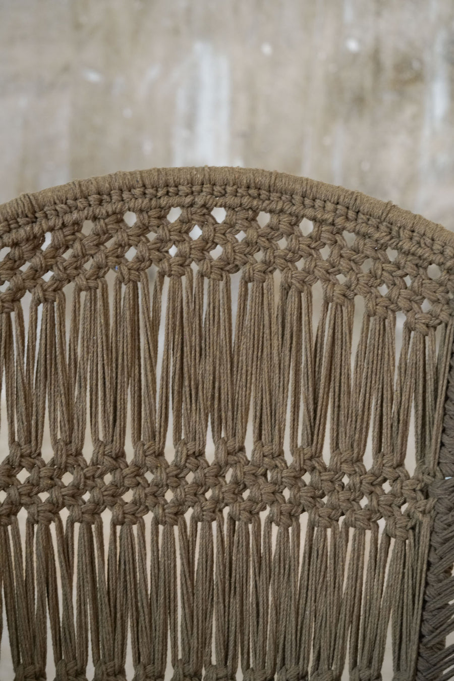 MACRAME CHAIR S