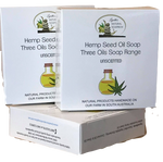 Three Oils Soap  Australian Hemp Seed Oils Soap