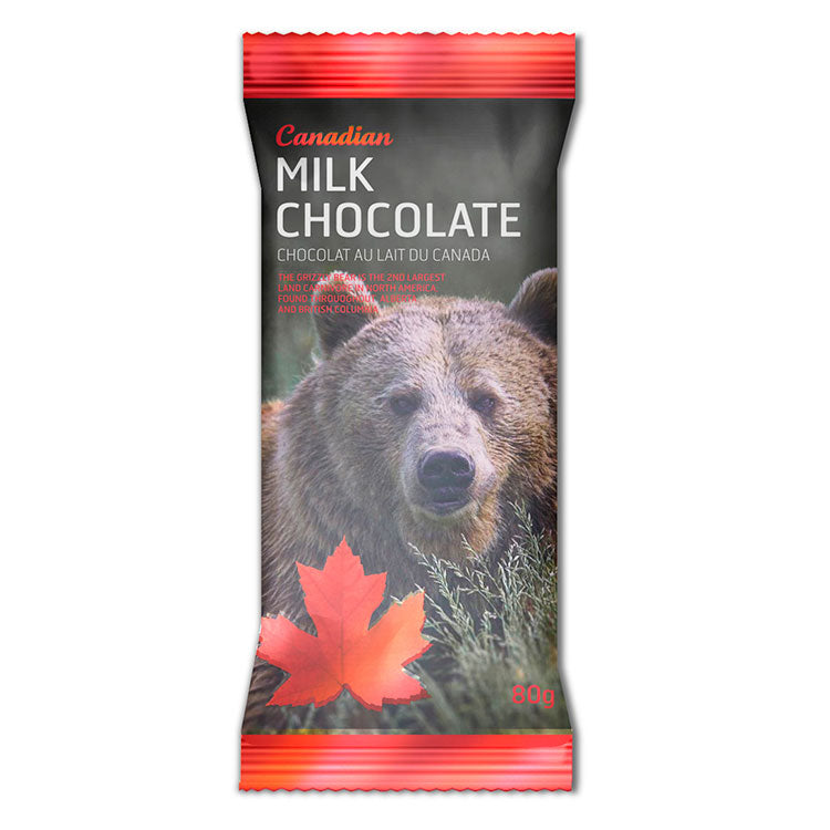 Grizzly Milk Chocolate Bar