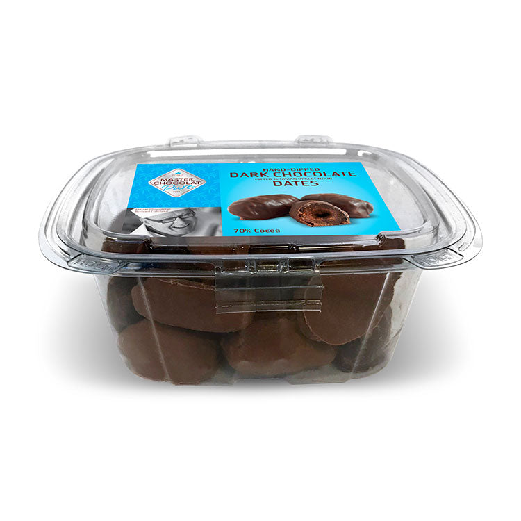 Dark Chocolate Covered Organic Dates