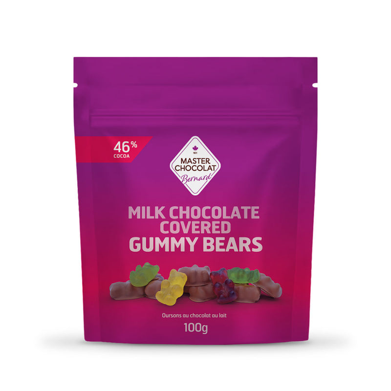 Chocolate Gummy Bears