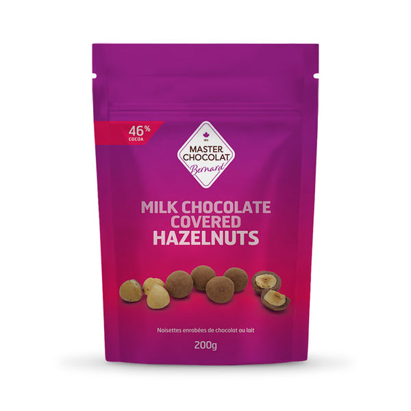 Chocolate Covered Hazelnuts
