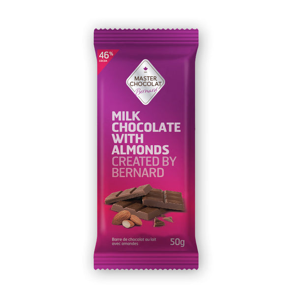 Milk Chocolate Bar with Almonds