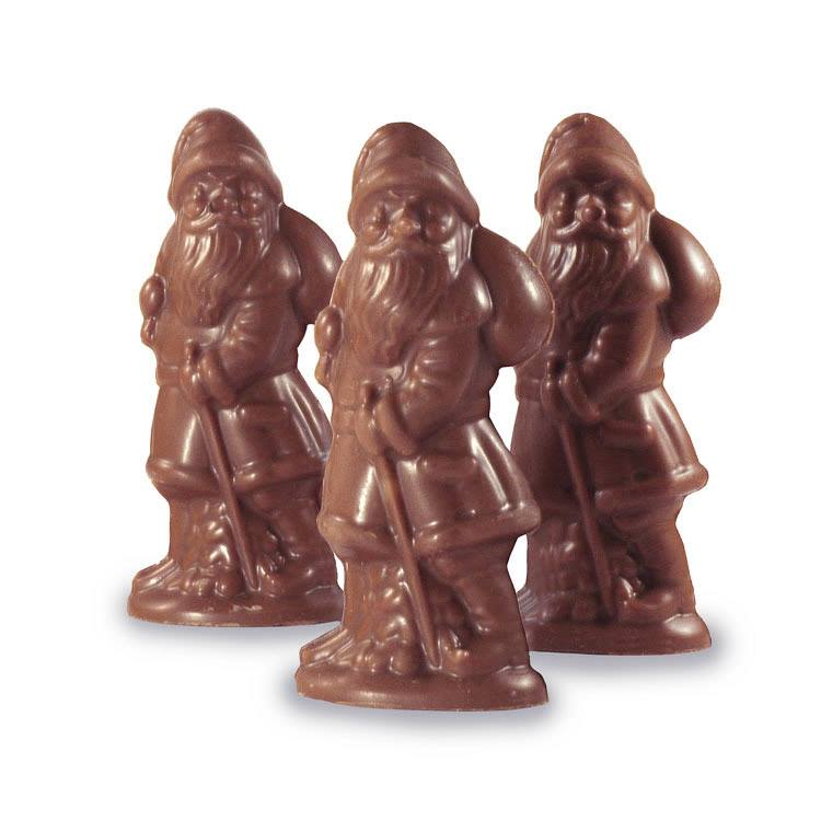 Bag of 3 Tiny Santas