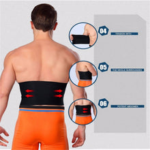 Load image into Gallery viewer, Adjustable Waist Tummy Trimmer Belt