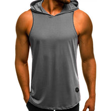 Load image into Gallery viewer, Fashion Hooded Tank Tops Hoodie