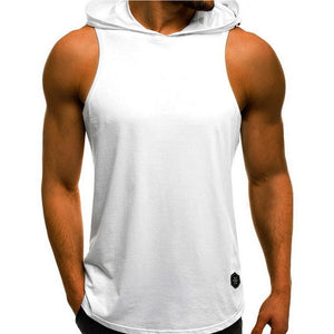 Fashion Hooded Tank Tops Hoodie