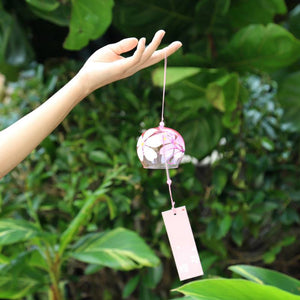 Sakura Glass Wind Chimes