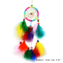 Load image into Gallery viewer, Feather Crafts Dream Catcher