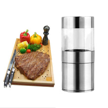 Load image into Gallery viewer, Manual Stainless Steel Salt Pepper