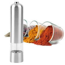 Load image into Gallery viewer, Electric Salt Pepper Grinder