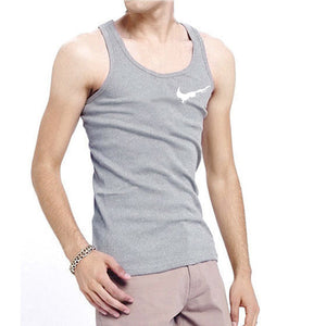 Casual Men O-neck Tank Tops