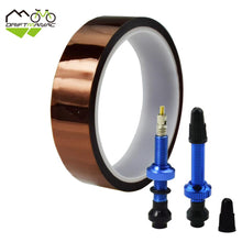 Load image into Gallery viewer, Bicycle Tubeless Valve + Tape