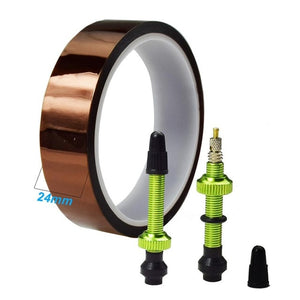 Bicycle Tubeless Valve + Tape