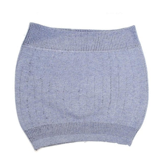 Double Layer Waist Support Warm Wool Waistband