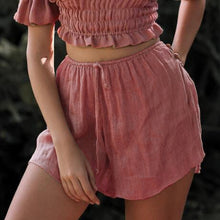 Load image into Gallery viewer, Casual Holiday Lace Up Beach Thin Shorts
