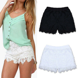 Lady Sexy Solid Shorts