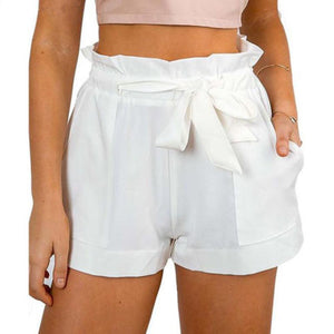 Hot Ruffle Mini Shorts