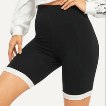 Load image into Gallery viewer, Women's Pure Color Slim Shorts