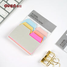 Load image into Gallery viewer, Colorful Simple Self-Adhesive Memo Pad
