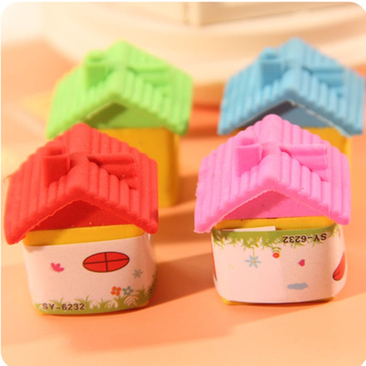 Lovely Small House Eraser