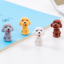 Load image into Gallery viewer, Mini Teddy Dog Pencil Eraser