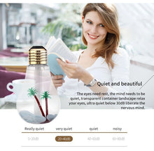 Load image into Gallery viewer, LED Lamp Air Ultrasonic Humidifier