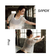 Load image into Gallery viewer, Women Mesh T-shirt