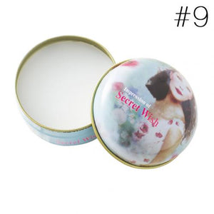 Portable Round Box Long-lasting Solid Perfume