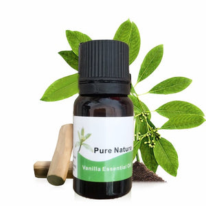 Pure Vanilla Plant Face Body Essential Oil