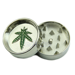 New Leaf 2 PART Metal Manual Herb Grinder
