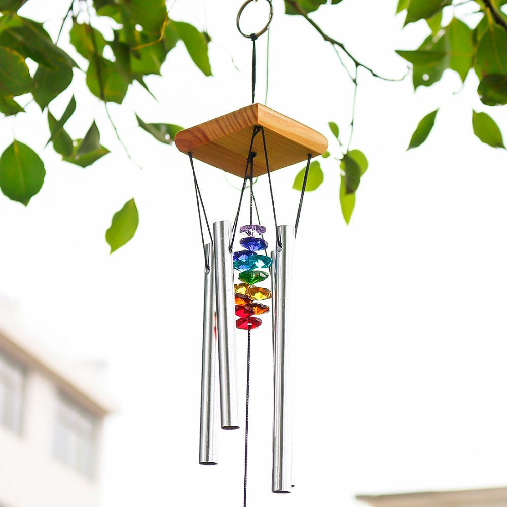 Wind Chimes with Rainbow