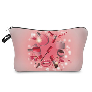 Makeup Pattern Cosmetics Bag