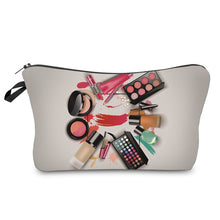 Load image into Gallery viewer, Makeup Pattern Cosmetics Bag