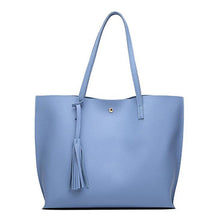 Load image into Gallery viewer, Leather Casual Tassel Handbags
