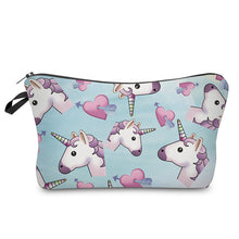 Load image into Gallery viewer, 3D Unicorn Printing Makeup Bag