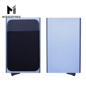 Aluminum Wallet With Elasticity