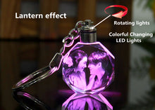 Load image into Gallery viewer, Customized Octagonal Crystal Crafts LED Lighting