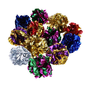 Multi Color Mylar Crinkle Ball