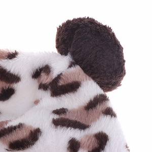 Soft Leopard Print Coat Apparel