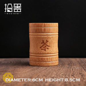 Bamboo Tea Canister