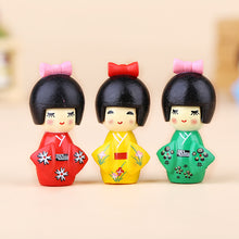 Load image into Gallery viewer, Cute Girl Figurine Bonsai Decoration