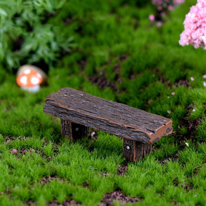 wood Bench Fairy