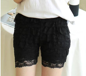 Mid-waist Casual Shorts