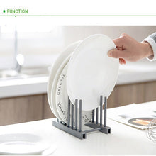 Load image into Gallery viewer, Multi-function Plate Dish Rack