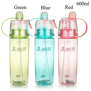Tritan Water Bottle With Nozzle