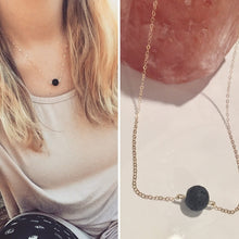 Load image into Gallery viewer, Lava Stone Necklace Aroma Diffuser