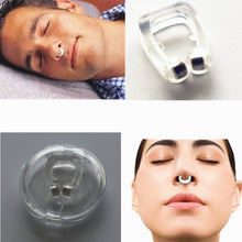 Load image into Gallery viewer, Anti Snoring Silicone Nose Clip